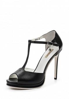 Босоножки, Vitacci, цвет: черный. Артикул: VI060AWPTW25. Женская обувь / Босоножки