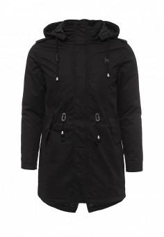 Парка, War Wolf, цвет: черный. Артикул: WA011EMNPW15. Мужская одежда / Верхняя одежда