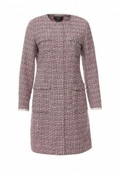 Пальто, Weekend Max Mara, цвет: розовый. Артикул: WE017EWORB35. Премиум / Одежда / Верхняя одежда / Пальто
