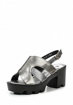 Босоножки, Wilmar, цвет: серебряный. Артикул: WI064AWRCD59. Женская обувь / Босоножки