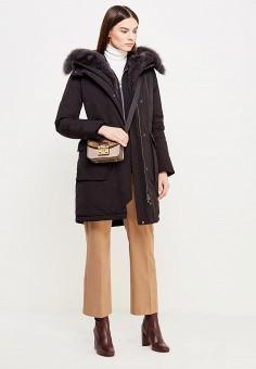 Пуховик, Woolrich, цвет: черный. Артикул: WO256EWUPH58. Женская одежда / Верхняя одежда / Пуховики и зимние куртки