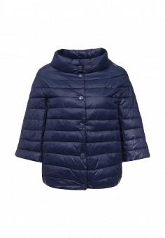 Куртка утепленная, Z-Design, цвет: синий. Артикул: ZD002EWRIB55. Женская одежда / Верхняя одежда / Демисезонные куртки