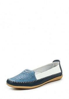 Мокасины, Zenden, цвет: мультиколор. Артикул: ZE007AWERY87. Женская обувь / Мокасины и топсайдеры