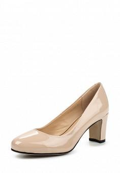 Туфли, Zenden Woman, цвет: бежевый. Артикул: ZE009AWPMA56. Zenden Woman