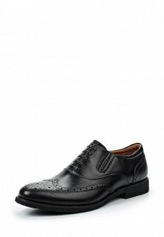 Туфли, Zenden Collection, цвет: черный. Артикул: ZE012AMPRD87.