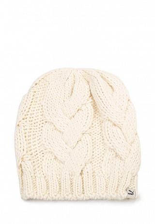 Шапка Heavy Knit Beanie eggnog white