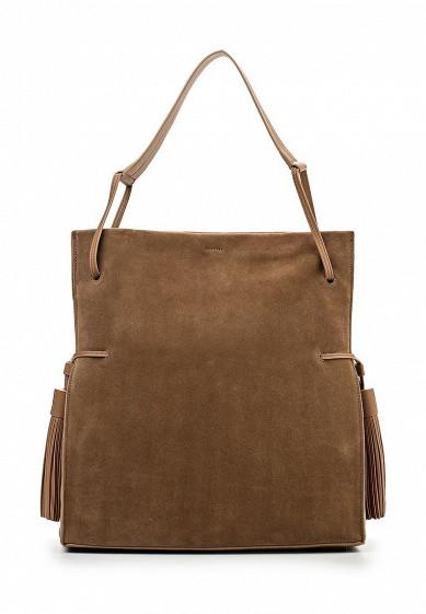 Сумка AllSaints коричневый AL047BWOMT31 Вьетнам  - купить со скидкой