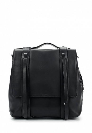 Купить Рюкзак AllSaints FIN LEA BACKPACK черный AL047BWUSS28 Вьетнам