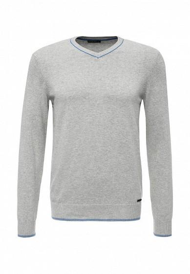 Пуловер Baon серый BA007EMQDQ09  - купить со скидкой