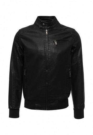 Купить Куртка кожаная B.Men черный BM001EMWWV24 Китай