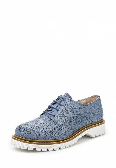 Ботинки Bronx синий BR336AWPVE37 Португалия  - купить со скидкой