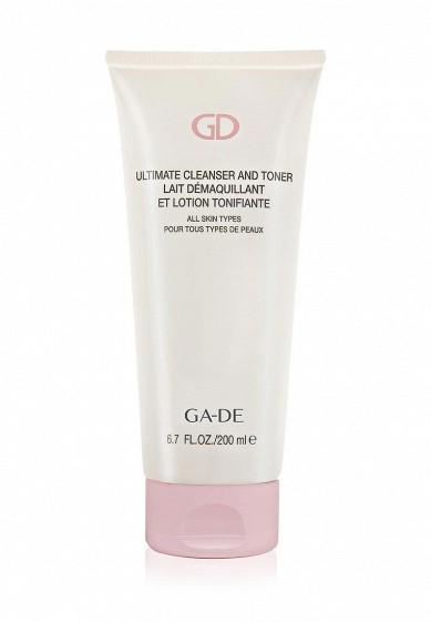 Купить Средство для снятия макияжа Ga-De очищающее и тонизирующее ULTIMATE CLEANSER AND TONER (для всех типов кожи) GA022LWXSS45 Израиль