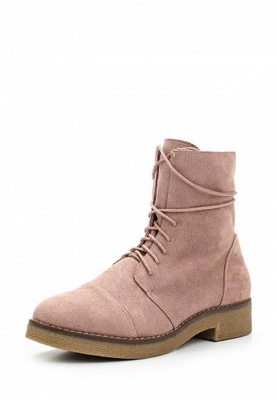 Купить Ботинки Ideal Shoes розовый ID007AWWEI32 Китай