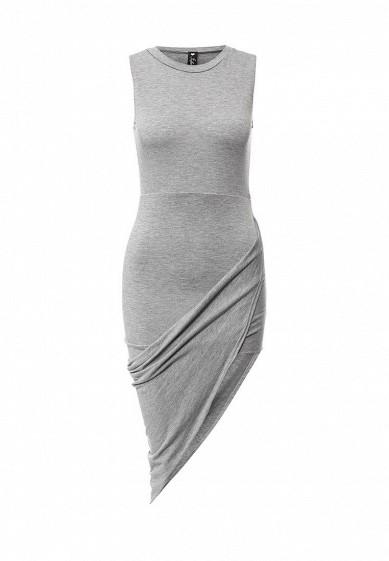 Платье Influence серый IN009EWIYT29  - купить со скидкой