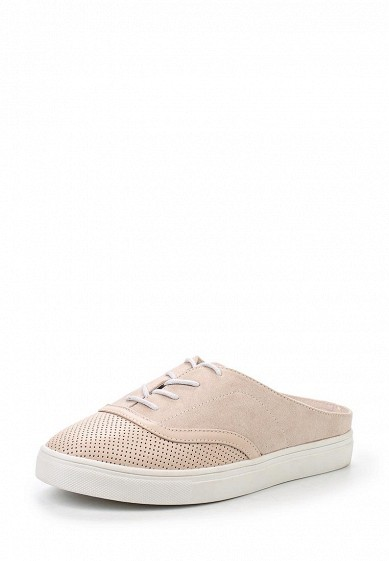СабоMADDIE LACE UP MULE PLIMSOLL - NUDE