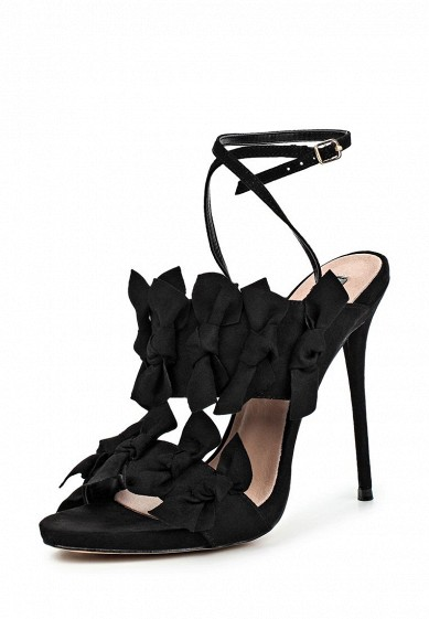Босоножки LOST INK DUSTIN BOW DETAIL HEELED SANDAL