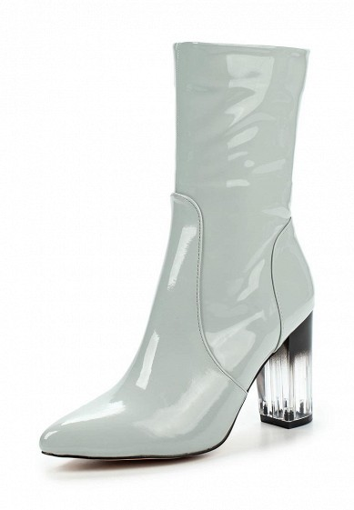 ПолусапогиGENEVA PERSPEX AND PATENT MID-HEIGHT BOOT