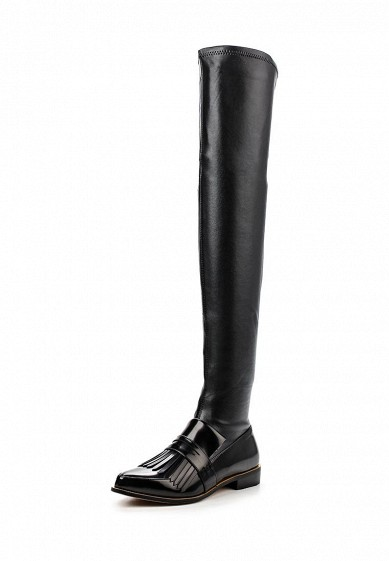 Ботфорты LOST INK GODIVA FRINGED LOAFER OVER KNEE BOOT