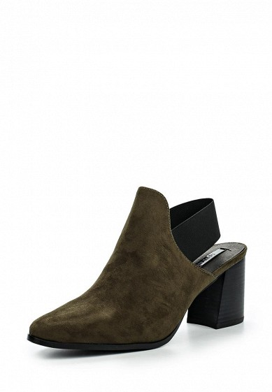 Босоножки LOST INK SPACE ELASTICATED OPEN BACK BOOT