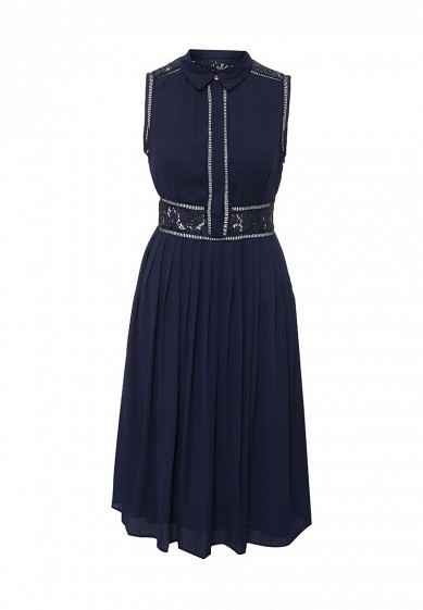 ПлатьеKIRSTY LACE AND PLEAT DETAIL DRESS