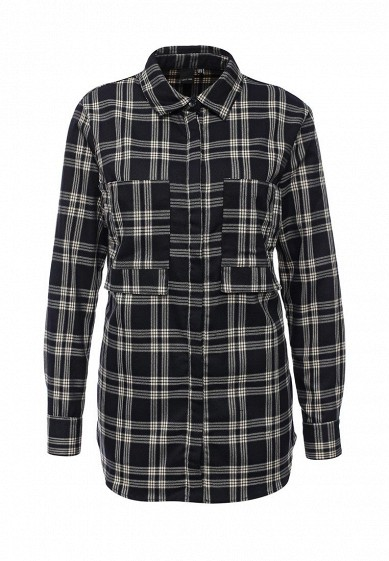 Рубашка LOST INK FRONT POCKET DETAIL CHECK SHIRT