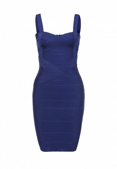 Платье Manosque синий MA157EWRKQ44 Китай  - купить со скидкой