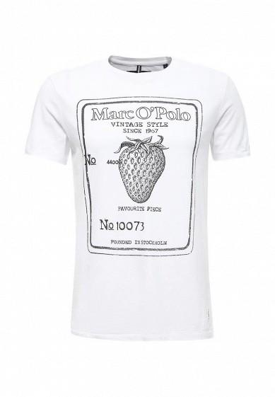 Купить Футболка Marc O'Polo белый MA266EMVZL56 Индия