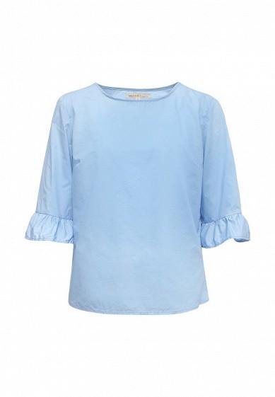 Блуза Modis голубой MO044EWSBI72  - купить со скидкой