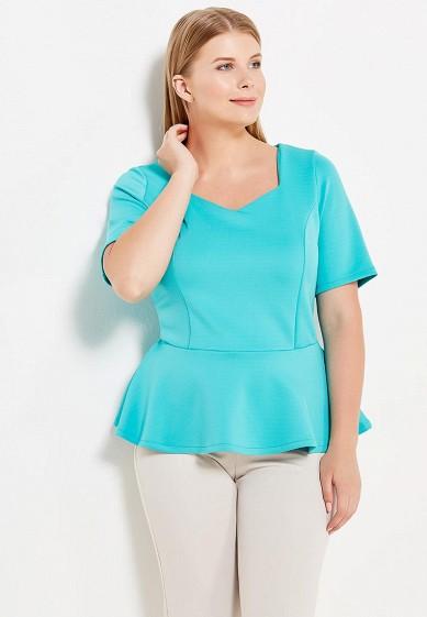 Купить Блуза Moe L&L бирюзовый MO066EWWSU70 Польша