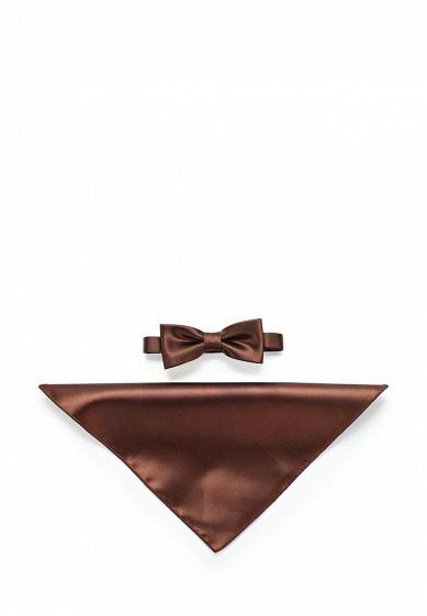 Купить Комплект бабочка и платок Greg коричневый MP002XM0W4SK ЕС