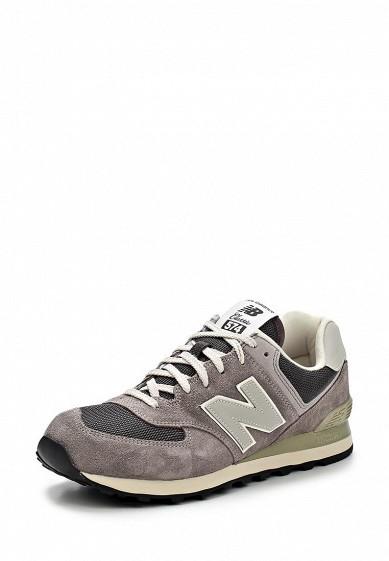 Кроссовки New Balance ML574 серый NE007AMCIR88 Вьетнам  - купить со скидкой