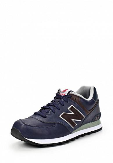 Кроссовки New Balance ML574 синий NE007AMCIS01 Вьетнам  - купить со скидкой