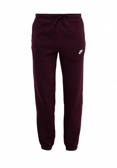 Купить Брюки спортивные Nike M NSW PANT CF FLC CLUB бордовый NI464EMUGL83 Пакистан