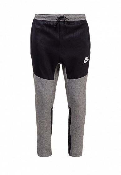 Купить Брюки спортивные Nike M NSW AV15 PANT OH FLC SSNL серый NI464EMUGW34 Малайзия