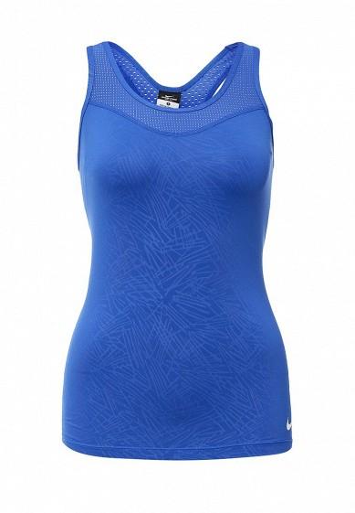 Купить Майка спортивная Nike NIKE PRO HC PALM EMBOSS TANK синий NI464EWHBN53 Камбоджа