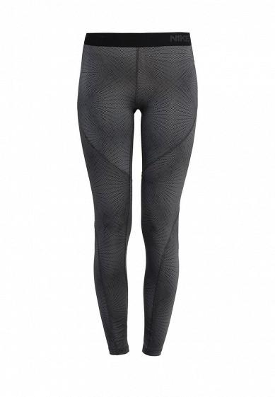 Тайтсы W NP HPRWM TGHT PANGO Nike серый NI464EWJGC10  - купить со скидкой