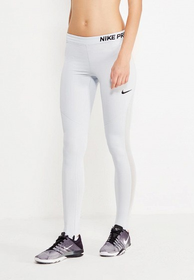 Купить Тайтсы Nike W NP HPRWM TGHT VENEER серый NI464EWUHH63 Шри-Ланка