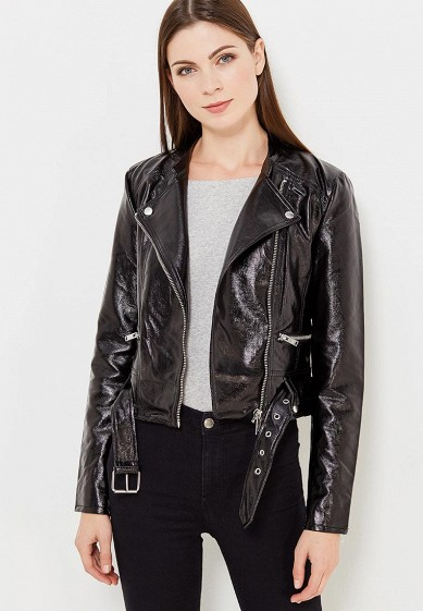 Купить Куртка кожаная Only черный ON380EWULA09 Китай
