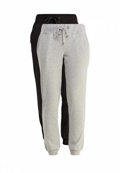 Купить Комплект брюк 2 шт. oodji серый, черный OO001EWXOZ60 Узбекистан