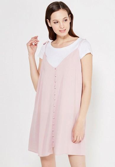 Купить Платье Topshop розовый TO029EWVHP19 Румыния