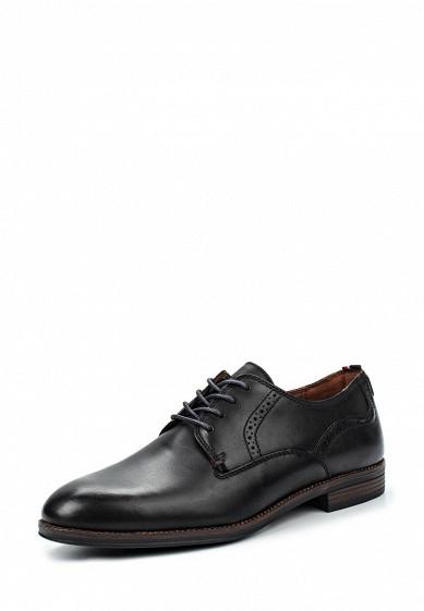 Туфли Tommy Hilfiger черный TO263AMKGP53 Китай  - купить со скидкой