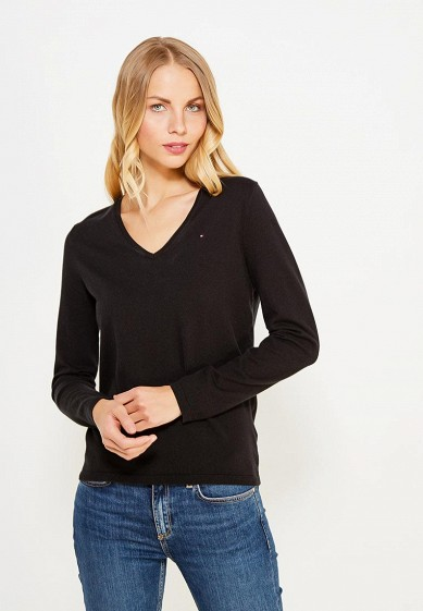Купить Пуловер Tommy Hilfiger черный TO263EWUFO77 Китай