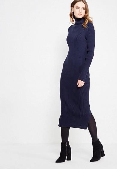 Купить Платье Tommy Hilfiger синий TO263EWUFS52 Китай