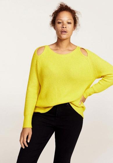 Купить Джемпер Violeta by Mango - LONDRES желтый VI005EWYBS31 Китай