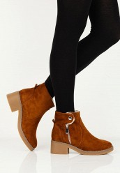 Ботильоны LOST INKALFIE SHEARLING LINED BOOT