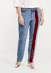 Джинсы LOST INK PLUSSTRAIGHT LEG JEAN WITH VELVET EMBROIDERY