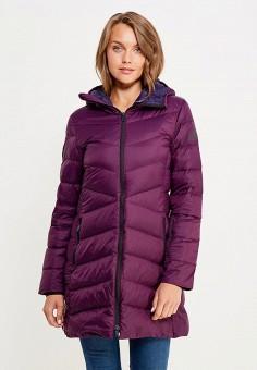 Пуховик, adidas Performance, цвет: фиолетовый. Артикул: AD094EWUOG77. Женская одежда / Верхняя одежда / Пуховики и зимние куртки
