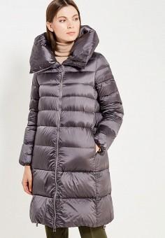 Пуховик, Add, цвет: серый. Артикул: AD504EWTCZ51. Премиум / Одежда / Верхняя одежда / Пуховики и зимние куртки