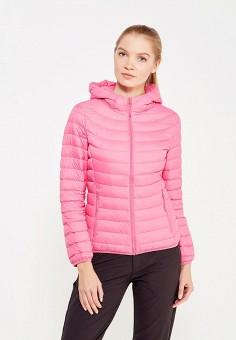 Пуховик, Anta, цвет: розовый. Артикул: AN225EWWVM39. Женская одежда / Верхняя одежда