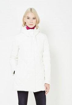 Пуховик, Armani Jeans, цвет: белый. Артикул: AR411EWTYA46. Премиум / Одежда / Верхняя одежда / Пуховики и зимние куртки